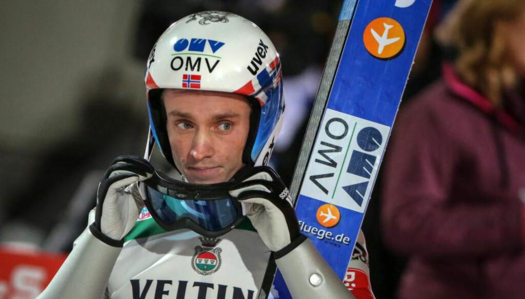 BESTEMANN:  Anders Fannemel ble beste nordmann på fjerdeplass i det første rennet i Hoppuka i går. Norge fikk fem hoppere blant de elleve beste. Foto: NTB Scanpix