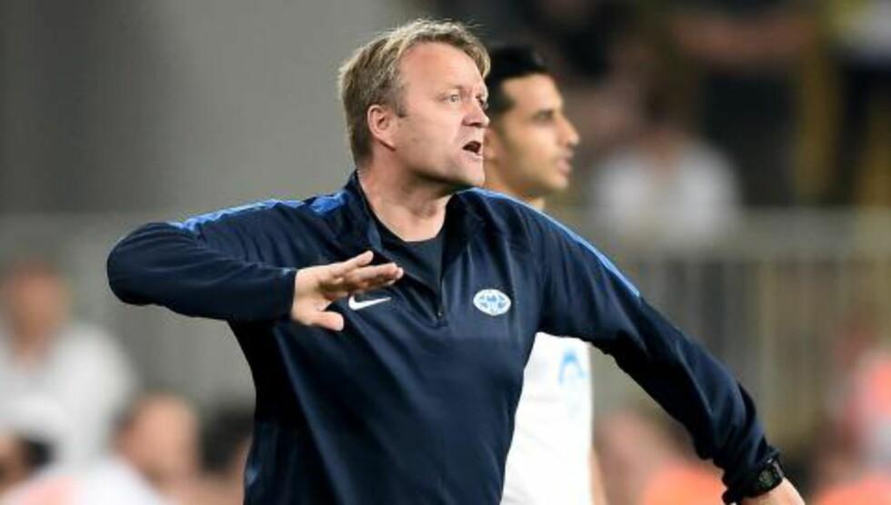 TAKTISK PERFEKT: Molde-trener Erling Moe ledet laget til en bragd i Tyrkia. Foto: Scanpix