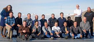 18 nordmenn feirer nyttår 250 kilometer fra nærmeste nabo og uten fyrverkeri