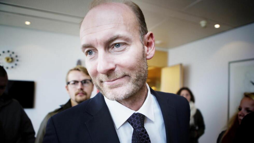 NY UTVALGSLEDER: Knut Olav Åmås skal leder Thorhild Widveys Mediemangfoldsutvalg. Foto: Christian Roth Christensen / Dagbladet