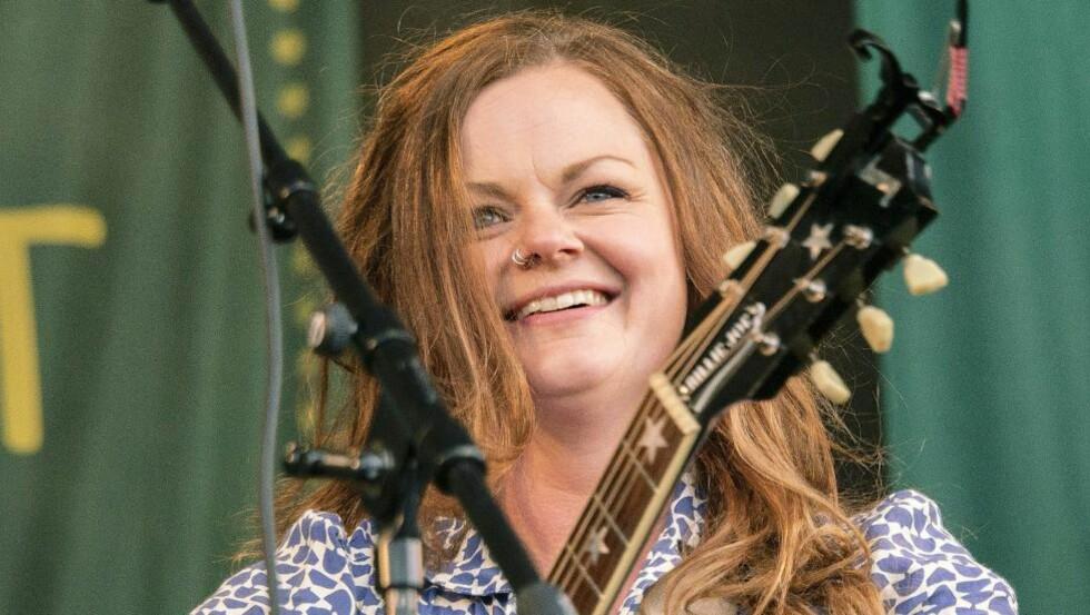 SLUTTER: Musiker Marianne Sveen slutter i bandet Katzenjammer. Foto: Kjell Erik Berg