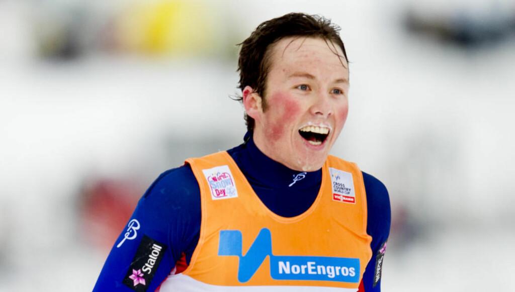 VANT: Emil Iversen tuktet alle på sprinten. Foto: Jon Olav Nesvold / NTB scanpix