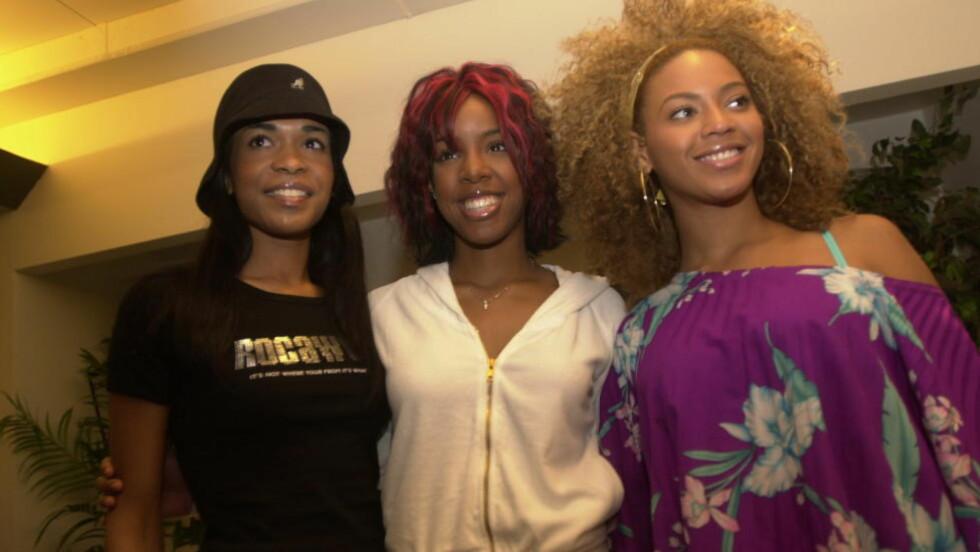 COMEBACK?: Destiny's Child i Oslo 2002. Her var jentene på sitt aller største som gruppe, og de hadde så vidt bikka 20 år.   Foto: Truls Brekke / Dagbladet