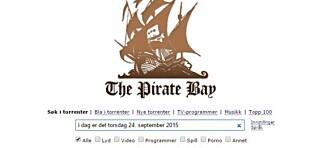 Ble stengt i Norge: Nå er The Pirate Bay tilbake