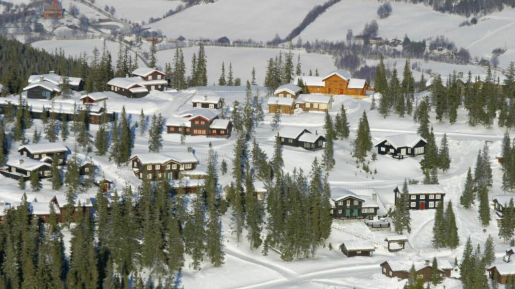 KVITFJELL: Hytteparadiset Kvitfjell i Ringebu kan ende opp med å ligge i Gudbrandsdal kommune. FOTO: TORBJØRN GRØNNING