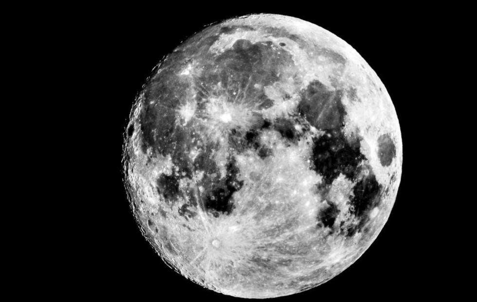 SUPERMÅNE: Dagblad-fotograf Halvor Solhjem Njerve tok natt til søndag dette bildet av supermånen i Oslo. I natt får vi både supermåne og blodmåne. To spektakulære himmelfenomener på én og samme dag. Foto: Halvor Solhjem Njerve / Dagbladet