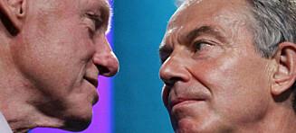Nye dokumenter avslører at Bill Clinton og Tony Blair hadde de rareste telefonsamtalene