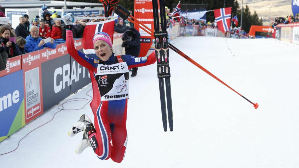 SUVEREN: Therese Johaug er årets vinner av Tour de Ski. Foto: Terje Pedersen / NTB scanpix