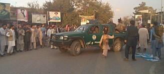 Taliban i ferd med å ta kontroll over provinshovedstad. Har befridd 500 fanger