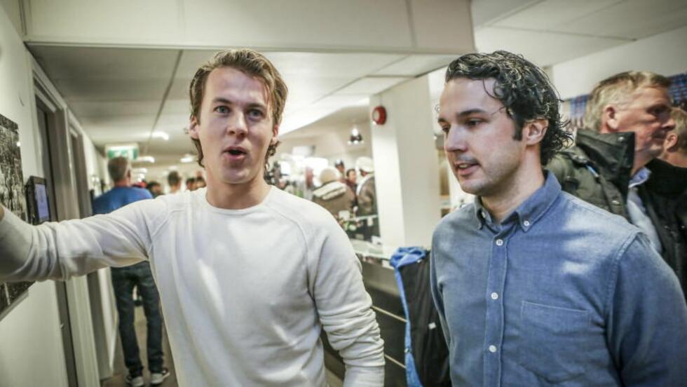 POLSK HJELP: Bård og Vegard Ylvisåker reiste til Polen for å skaffe seg stand-ins.    Foto: Christian Roth Christensen / Dagbladet