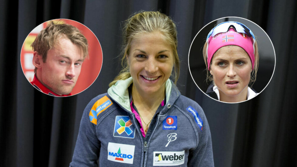 FÅR STØTTE: Therese Johaug liker at Astrid Uhrenholdt Jacobsen sier det hun mener om Petter Northug-saken. Foto: NTB Scanpix