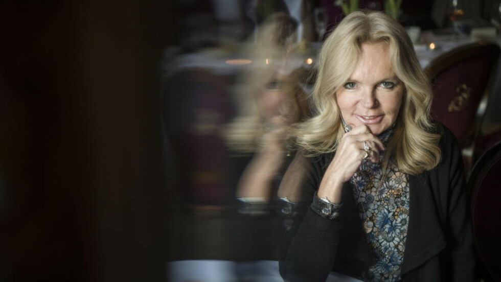 EMOSJONELL: Lucinda Riley er i Oslo for å promotere sin nye bok. Foto: Øistein Norum Monsen / Dagbladet