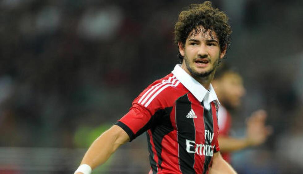 MILAN-GULL:  Pato var en av Europas farligste angrepsspillere i begynnelsen av 20-åra for Milan. Foto: NTB Scanpix.