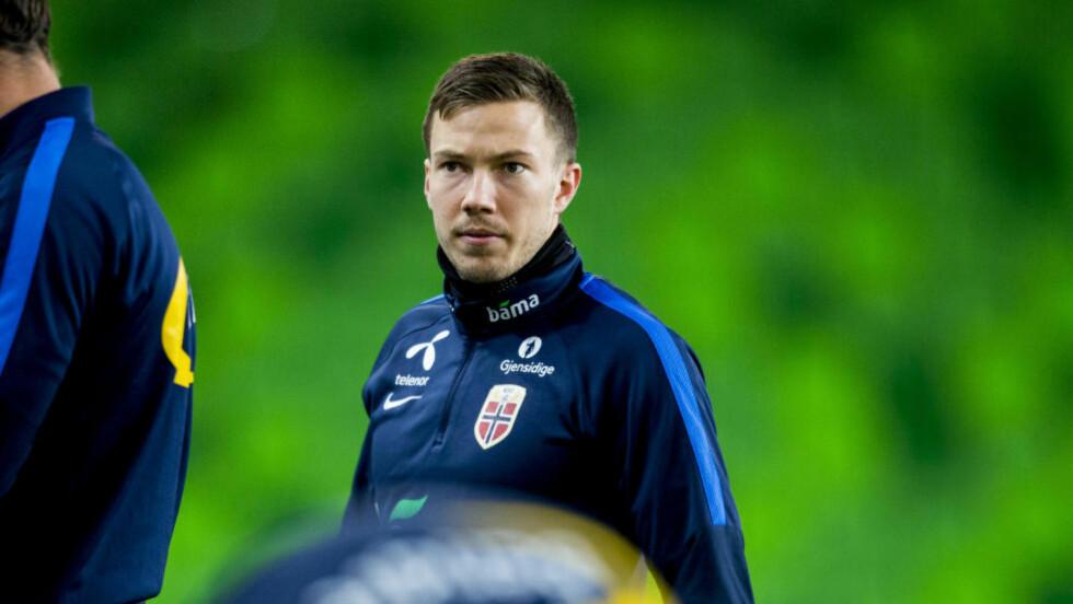 TIL TYRKIA: Martin Linnes har skrevet under for Galatasaray.  Foto: Vegard Wivestad Grøtt / NTB scanpix