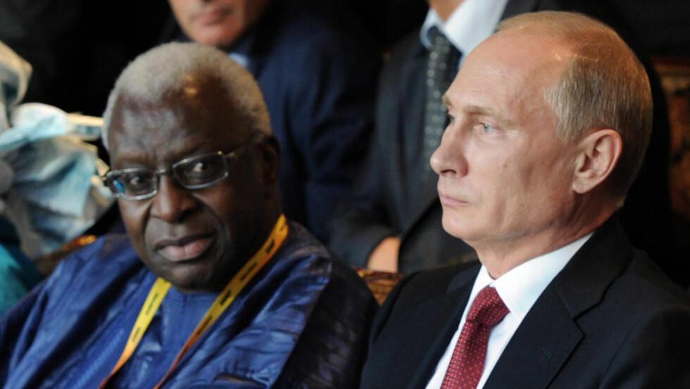 BLE KONTAKTET:  Vladimir Putin skal ha blitt kontaktet for å finne en løsning da ni russere avla mistenkelige dopingprøver. Foto: NTB / Scanpix.
