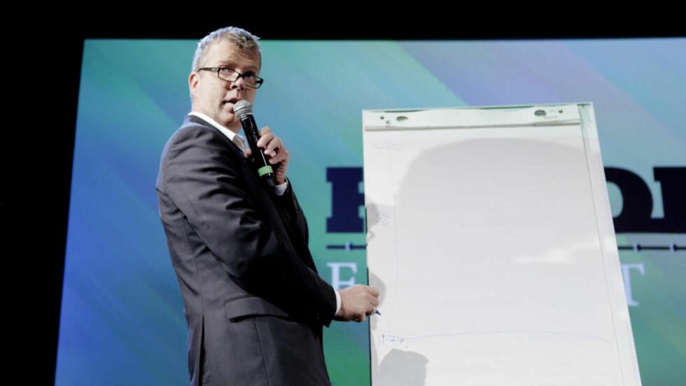 VIDDA: Den innvandringskritiske kommentatoren Jon Hustad tviler på om Peder Nøstvold Jensen noen gang vil bli sett på som en legitim samfunnsdebattant. Foto: NTB Scanpix