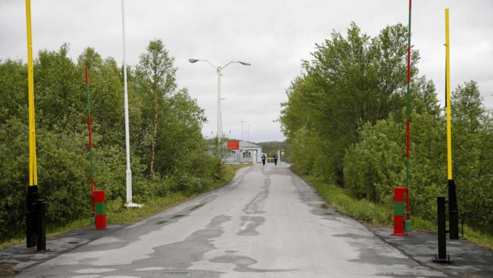 SØKER ASYL: Grensestasjonen Storskog Boris-Gleb på grensen mellom Norge og Russland som mange syrere nå benytter seg av etter å ha bodd i Russland i flere år, før de søker asyl til Norge. Foto: Cornelius Poppe / NTB scanpix