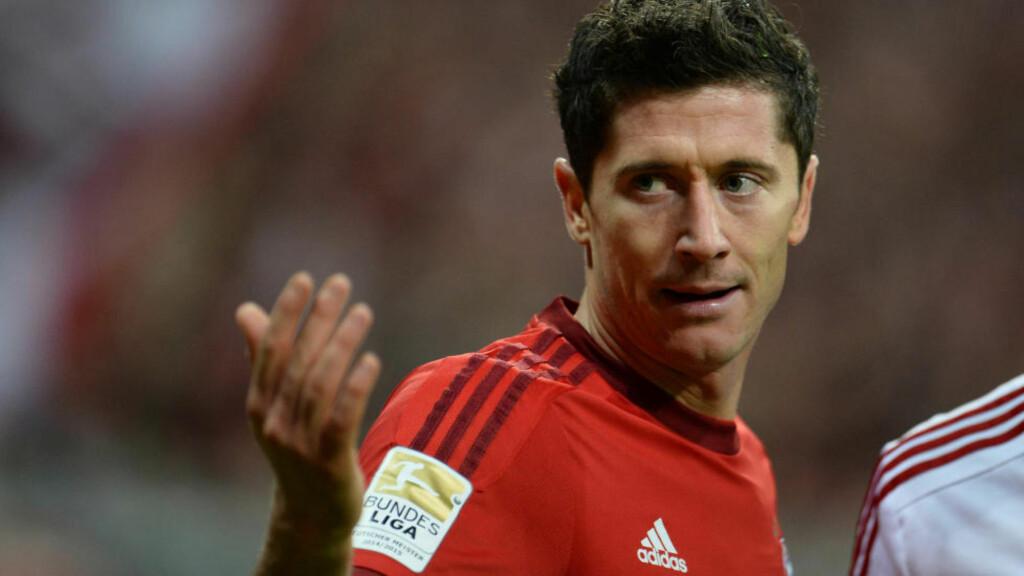 AGENTEN FØLGER MED:  Robert Lewandowskis agent liker ikke at Bayern-ledelsen snakker varmt om Gonzalo Higuaín. Foto: Andreas Gebert/dpa/NTB Scanpix.