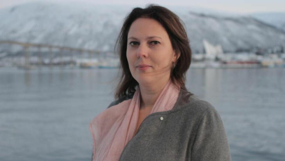 PREMIEREKLAR: Margreth Olin har premiere på filmen «Mannen fra Snåsa» under Tromsø internasjonale filmfestival i kveld, og er spent på hvordan den blir møtt av publikum. Foto: Mohamed Jabaly/TIFF