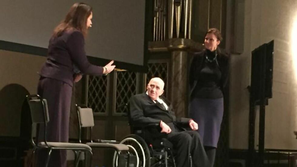 VIL FORANDRE: Margreth Olin og Joalf Gjerstad var til stede i Oslo Domkirke i går kveld. Foto: Heidi Molstad Andersen / Dagbladet