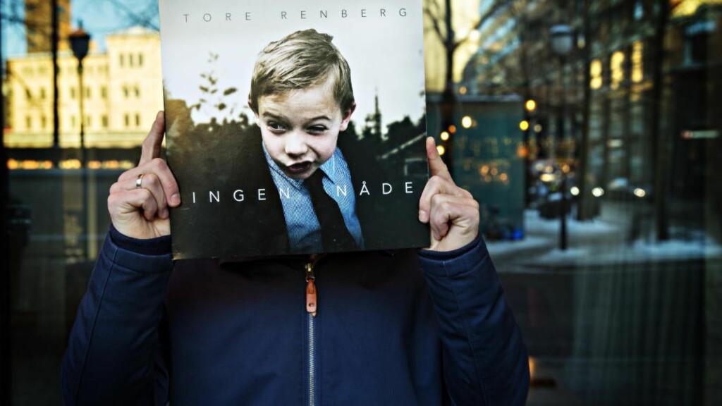 SOLODEBUT: Forfatter Tore Renberg gir ut soloalbum, etter mange forsøk med kompisband som ikke har ført til stort. Foto: Nina Hansen / Dagbladet