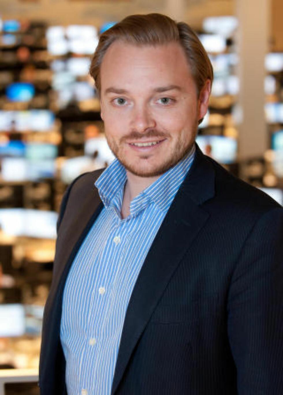 TROR IKKE PÅ KRISE: - Dagen i dag var ikke noe hyggelig, sier aksjesjef Alexander Opstad i DNB Markets til Dagbladet. Han mener likevel at det er usannsynlig at vi står på randen av en ny finanskrise. Foto: DNB