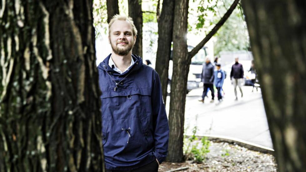 BOKAKTUELL: Mímir Kristjánsson er aktuell med boka «Frihet, likhet, Island». Foto: Nina Hansen / Dagbladet