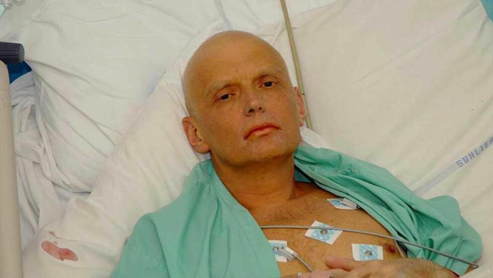 DØD: Den tidligere KGB- og FSB-agenten kjempet i 23 dager for livet på University College Hospital, men døde på sykehus 23. november 2006. Foto: NTB scanpix