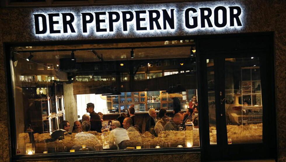 ANNERLEDES: Der peppern gror er en moderne indisk restaurant i hjertet av Oslo. Robinson og Fredag gir mye ros og litt pepper. Foto: JACQUES HVISTENDAHL