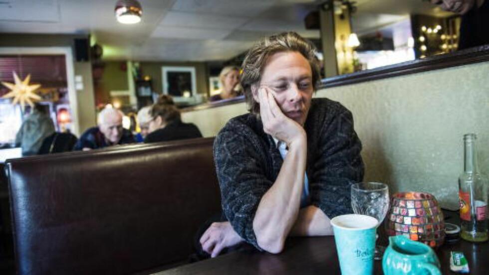 LITE SPILLETID: Kristoffer Joner har sin Hollywood-debut i filmen «The Revenant», men er ikke mye å se i filmen som har norsk premiere i kveld. Torget mm. Foto: Lars Eivind Bones / Dagbladet
