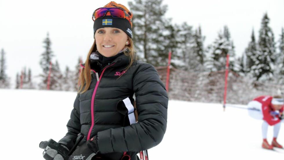 IMPONERT: Johanna Ojala har latt seg imponere og overraske over den norske langrennsrekrutteringen. Foto: METTE BUGGE