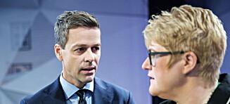 Nå sender KrF og Venstre brev med krav til Solberg Listhaug. Ap og SV ikke med.