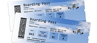 Advarer mot skrytebilder av boardingkort på sosiale medier når du drar på ferie
