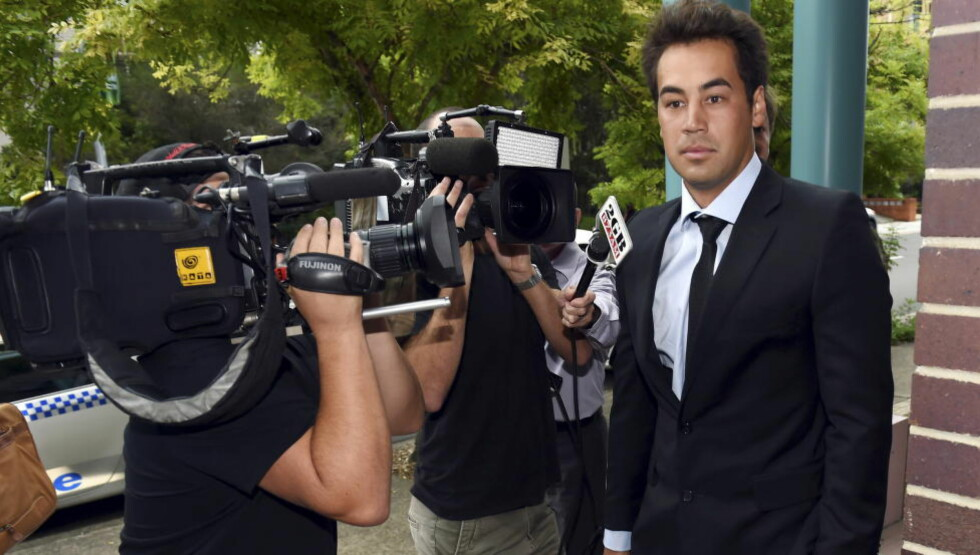 TAPTE MED OVERLEGG. Den tidligere tennisspilleren Nick Lindahl tilsto at han hadde lagt seg i tenniskamper i retten i Sydney mandag. Foto: REUTERS/NTB/scanpix