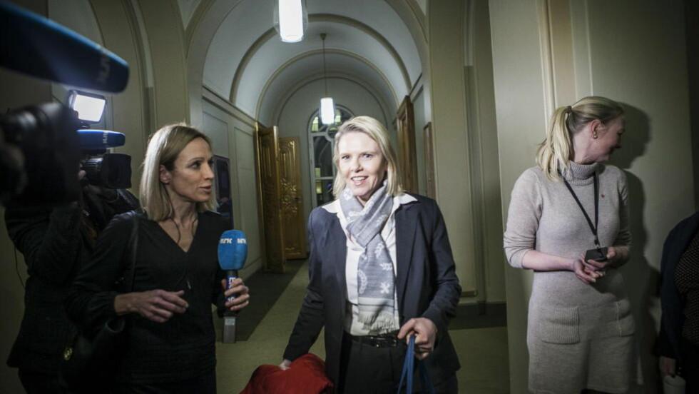 HAR SVART: Innvandrings- og integreringsminister  Sylvi Listhaug (Frp) bekrefter i et brev til Stortinget at tvilstilfeller vil bli realitetsbehandlet. Foto: Christian Roth Christensen / Dagbladet