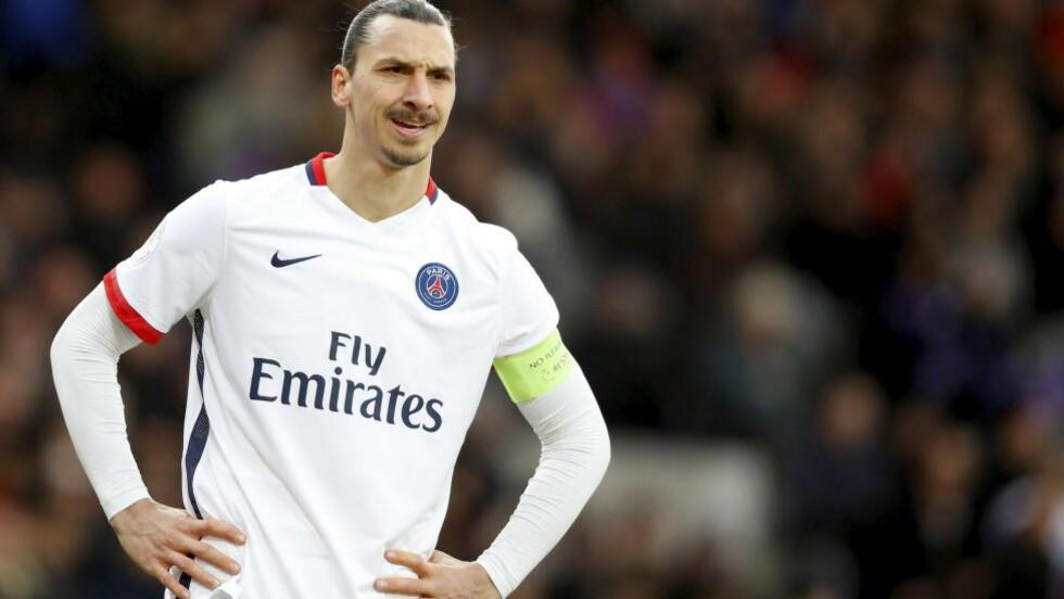 INGREN PRISER: Zlatan Ibrahimovic fikk ikke en eneste pris på den svenske idrettsgallaen. Foto: REUTERS/Regis Duvignau