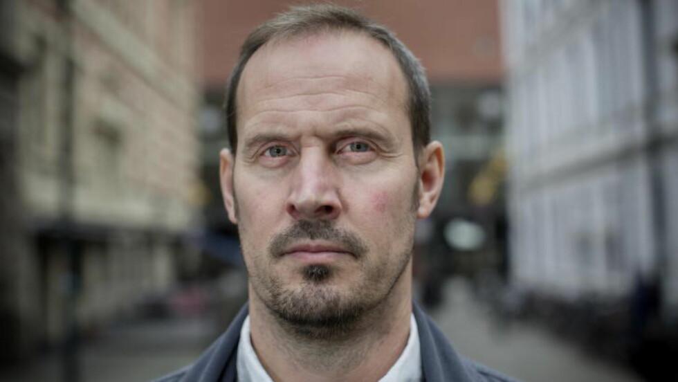 NY BOK: Tidligere journalist, nå forlagsredaktør Bjørn Olav Jahr (46) har skrevet boka «Hvem drepte Birgitte Tengs», som kommer ut på Gyldendal denne uka. Foto: Tomm W. Christiansen / Dagbladet