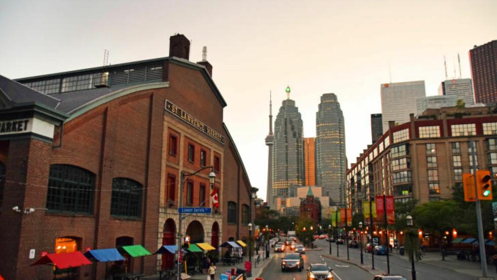BACONBY: Toronto var tidligere kjent som Hogtown, det engelske ordet for slaktegris. Foto: MARI BAREKSTEN