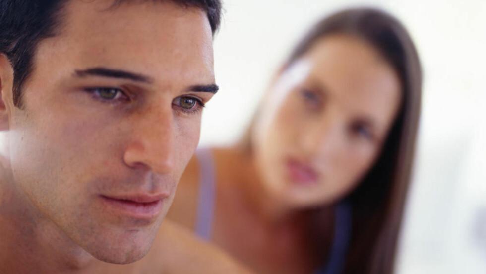 TØFF SAMTALE:  Vi har spurt ekspertene om når det er passende å fortelle sin eks-partner om den nye kjæresten. Foto: NTB / Scanpix.