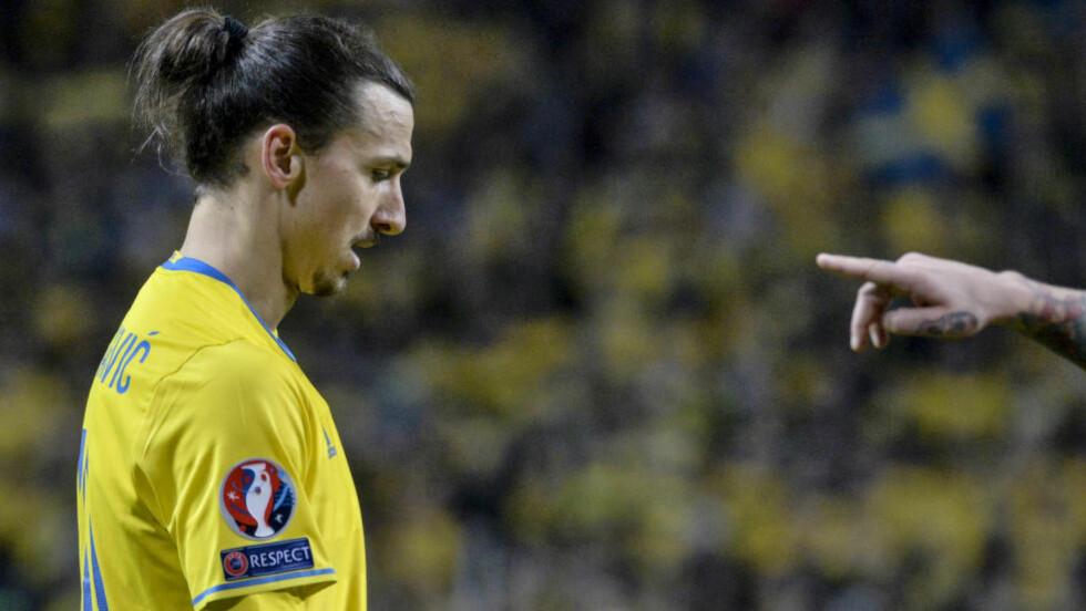 FIKK INGEN PRIS: Sveriges Zlatan Ibrahimovic var nominert i to kategorier, men fikk ikke med seg hjem noen pris. Foto: Janerik Henriksson/TT kod 10010