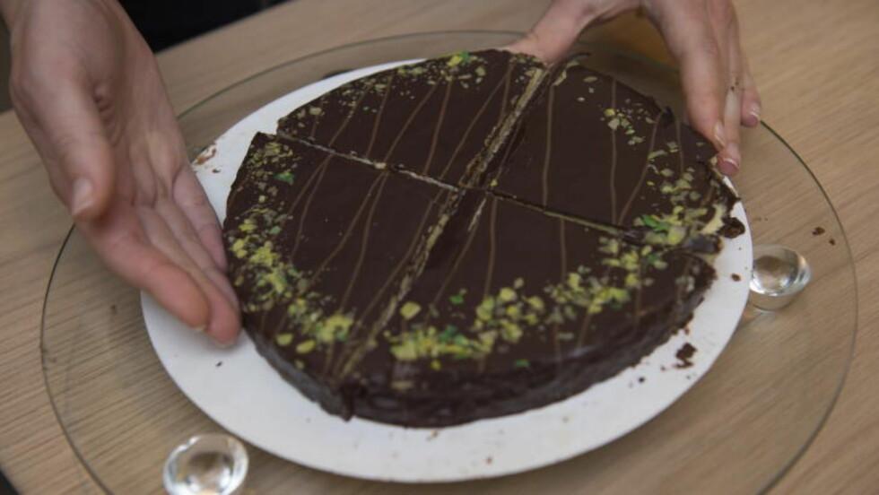 SIRKEL: Kutter du kaken etter den vitenskapelige metoden, blir den værende i sirkelform. Foto: Lars Eivind Bones / Dagbladet