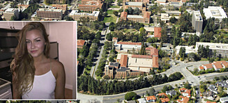 Norske Therese (21) kom tett på gisseldrama i Los Angeles