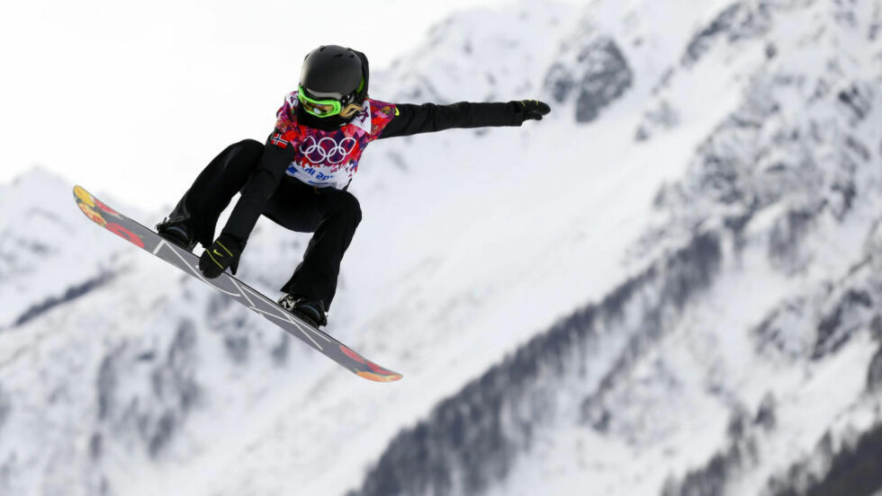 UTENFOR PALLEN: Silje Norendal klarte ikke å vinne sin fjerde gullmedalje i X Games. I stedet måtte 22-åringen nøye seg med å bli nummer fire. Foto: REUTERS/Lucas Jackson