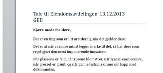 Universitetet i Oslo betalte 68 000 kroner for to taler