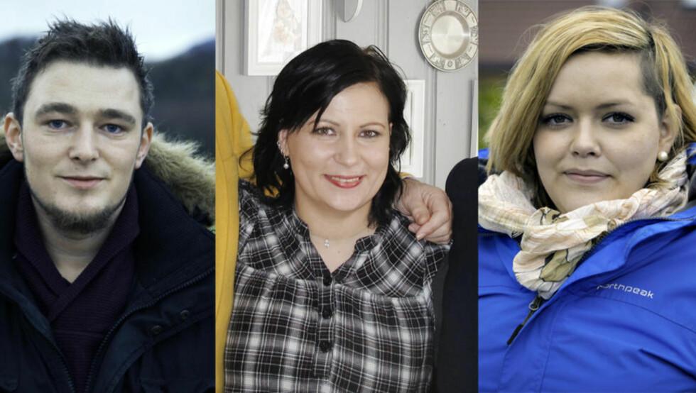 FERDIG MED «LUKSUSFELLEN»: Kim Helge Storholt har gått fra fire til en bil, Hege Therese Westlund fikk selvtillit, mens Therese Frank er på jakt etter ny jobb.