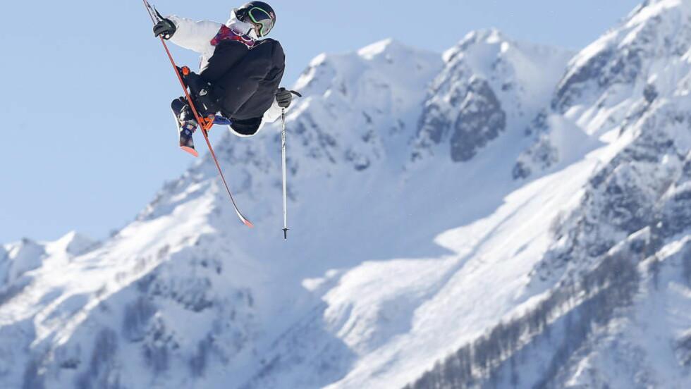 BRONSE: Øystein Bråten tok en god bronsemedalje under søndagens X Games-finale. Her fra OL i Sotsji 2014. Foto: Bjørn Langsem / DAGBLADET