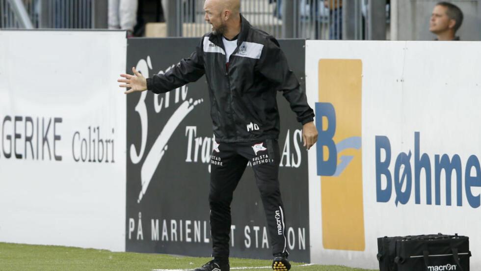 PÅ PLASS SOM TRENER: Mark Dempsey har overtatt treneransvaret for Haugesund. Foto: Terje Pedersen / NTB scanpix