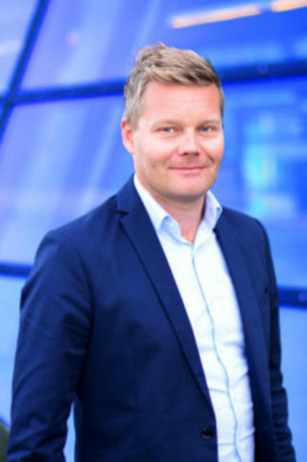 SKAL IKKE VÆRE SÅNN: Informasjonssjef Tormod Sandstø. Foto: Telenor