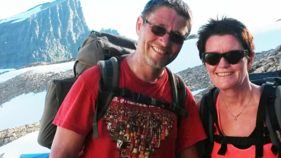 BLE POLITIANMELDT: Torill Vagstad og hennes ektemann Olav Brunstad åpnet hjemmet for ett av medlemmene i organisasjonen hun er leder for. Så ble de anmeldt for kidnapping og ilagt besøksforbud. Foto: Privat