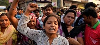 Fem menn pågrepet etter massevoldtekt som ryster India